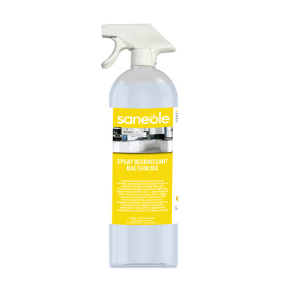 SPRAY DEGRAISSANT BACTERICIDE