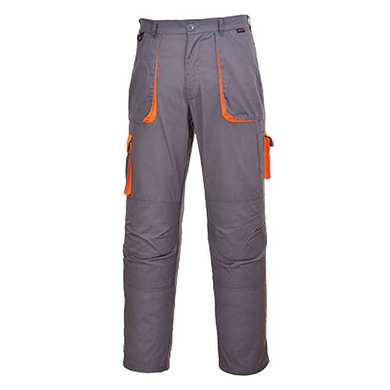 PANTALON DE TRAVAIL GRIS ORANGE