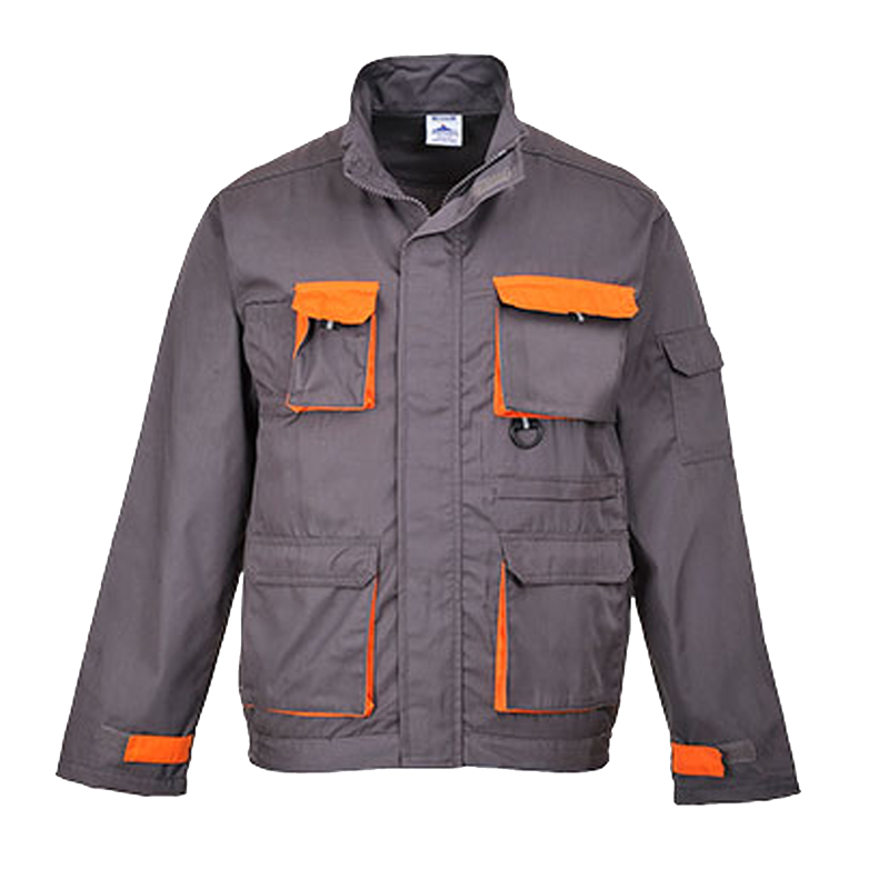 VESTE DE TRAVAIL GRIS ORANGE