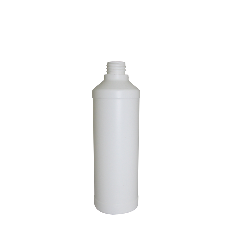 Bouteille 500ml cylindrique blanche